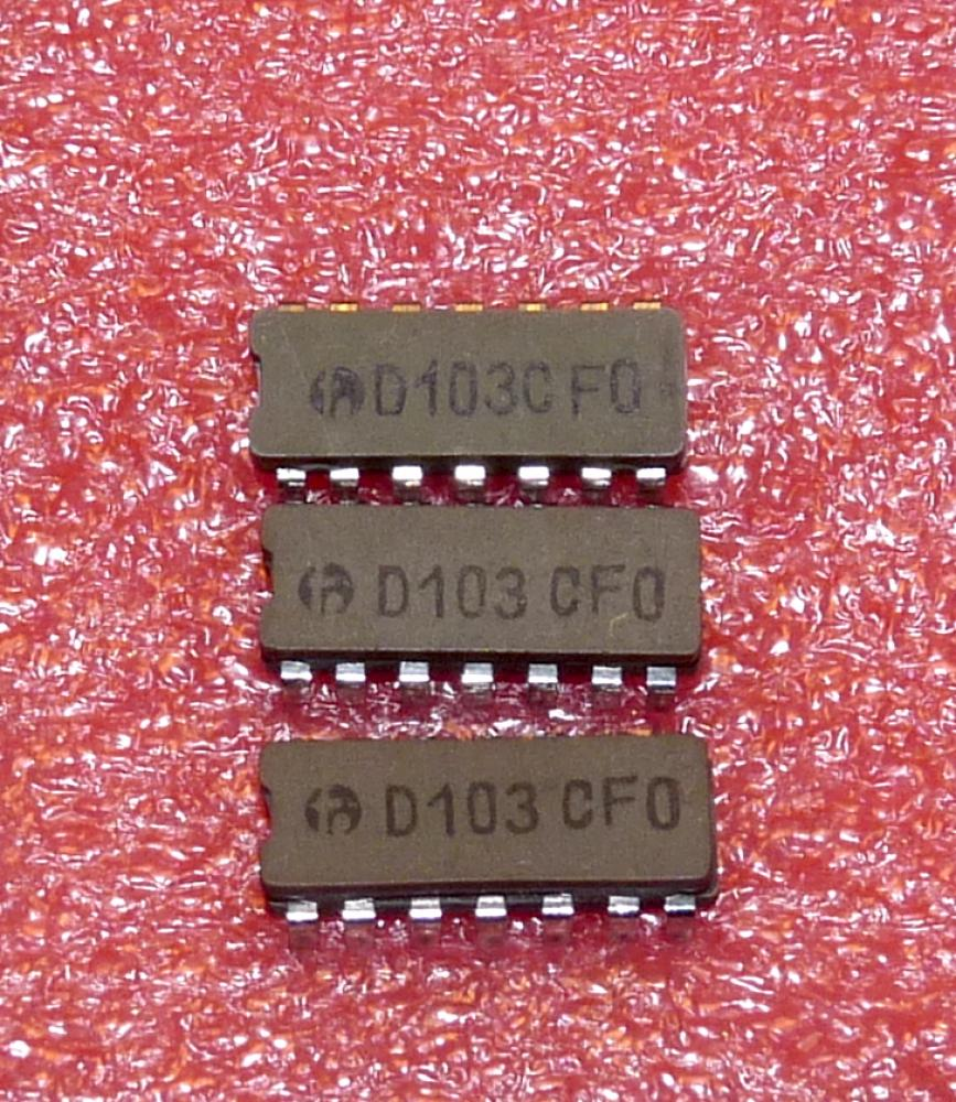 D 103 C 4 NAND je 2 Eing., o.K., (7403)