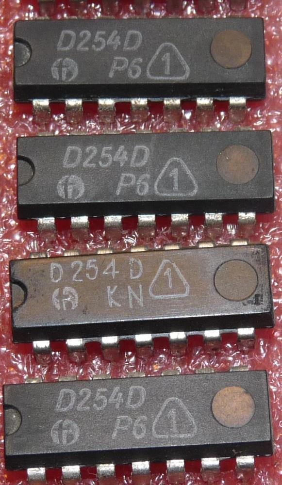 D 254 D (7454) AND/NOR mit 3x 2 Eing.